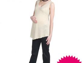 Блуза без рукавов для беременных новая