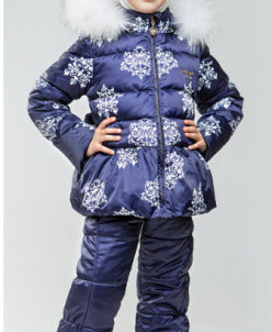 Комплект для девочки зима