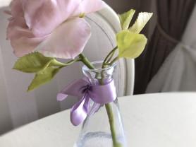 Английская роза в колбе