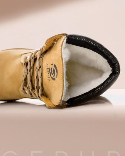 Натуральные ботинки Gepur