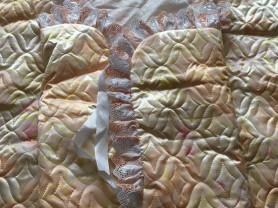 конверт на выписку+одеяльце в кроватку/коляску