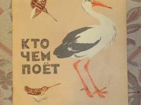 Бианки Кто чем поет Худ. Н. Чарушин 1972