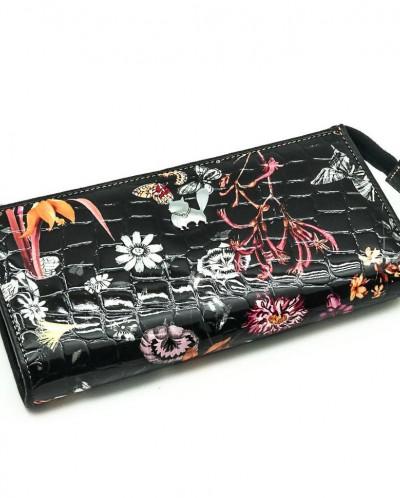 Женский кожаный кошелек на молнии Sergio Valentini СВ 8075-0