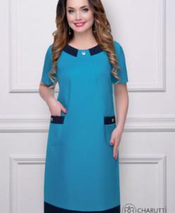 Платье Прет-А-Порте (нью блю)