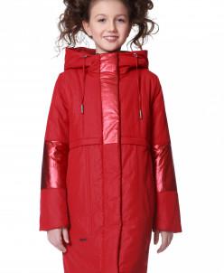 """Пальто """"Ума"""" красное"""