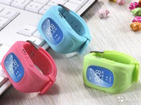 Детские часы GPS трекер Q50