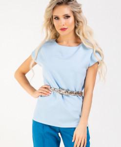 Блуза 185/4, голубой