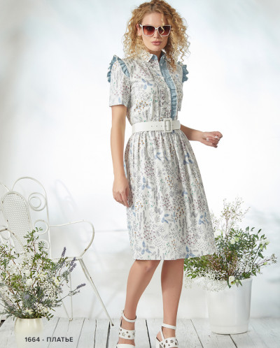 1664  Платье NIV NIV FASHION