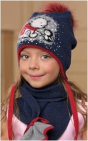 ДРУГ комплект      (шапка, шарф)