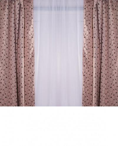 Комплект тюль+шторы 300*260