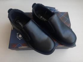 Новые кожаные туфли, р.34