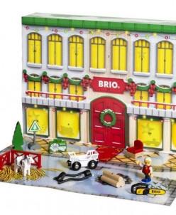 BRIO Новогодний рождественский адвент календарь 33877