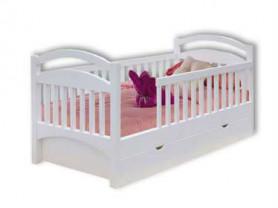 Кровать детская, массив сосны