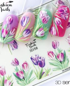 Fashion Nails, Слайдер-дизайн 3D/58