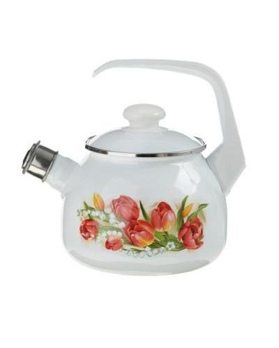 Чайник 2,5 л со свистком декор