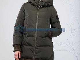 Новый зимний стильный пуховыик