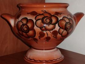 Керамическая форма горшок для запекания 3.5 литра