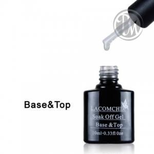 Bluesky lacomchir base+top coat топ и база 2 в 1 10мл