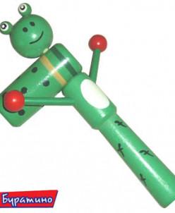 Трещётка -зелёная лягушка
