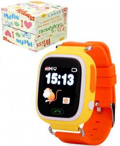 Детские умные часы с GPS-трекером