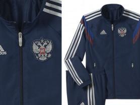 Новый спортивный костюм Adidas Russia