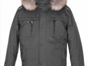 Куртка новая на синтепоне с енотом, 48 р-р