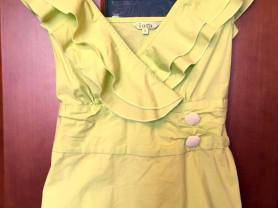 Блуза с оборкой iora р. M