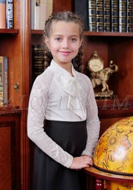блузка трикотажная С*нежанна