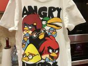 hm футболка angry berds р 8-10 л