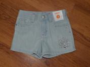 Джинсовые шорты со стразами gymboree 3-4 г и 5-6 л