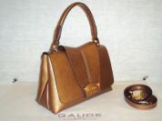 Новая бронзовая сумочка Gaude Milano с биркой
