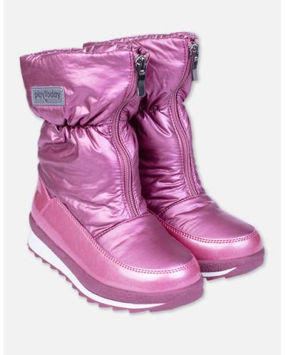 82409 Сапоги (PLAYTODAY)светло-розовый
