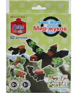 """Конструктор ARTEC World """"Мир жуков"""" коробка 30 дет"""