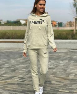Женский костюм 023 P светло-серый