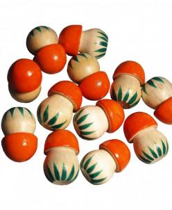 Счетный материал грибы (12 штук)