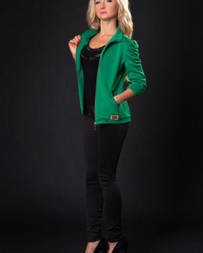 Спортивный костюм № 630-зеленый