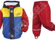 Непромокаемый костюм для мальчиков 98-116