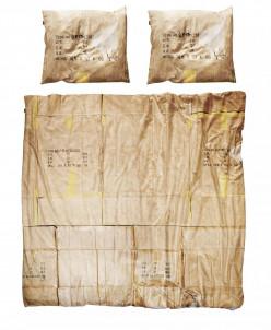 Комплект постельного белья Картонная коробка, 2- спальный