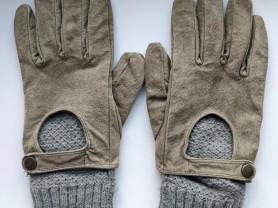 Rezerved перчатки замша микс б/у