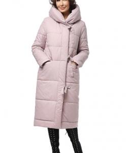 """Пальто """"Нерис"""" Артикул: 18425 серо-розовый"""