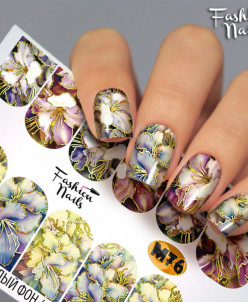 Fashion Nails, Слайдер-дизайн M76