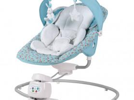 Кресло-качели для новорожденных happy baby б/у