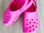 Новые яркие стильные кроксы сабо сланцы crocs