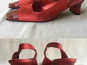 Туфли красные новые Италия, р.36