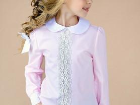 Новая школьная блузка д/д. Размер 140.