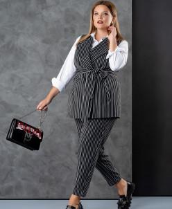Блуза, брюки, жилет Deesses Артикул: 3007