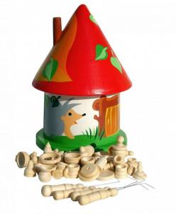 Семейная игра Бирюльки (большой комплект в домике) Вальда 5+