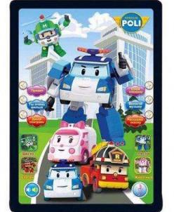 Интерактивный планшет Поли робокар