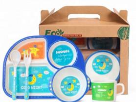 Бамбуковая посуда для детей