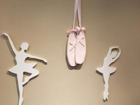Балерины декор